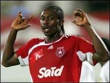 Etoile striker Emeka Opara