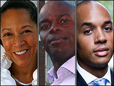 Helen Grant, Shaun Bailey and Chuka Umunna