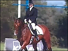 Shelagh Ball riding