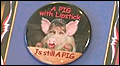Lipstick on a pig badge