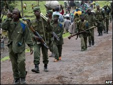 Congolese government troops - 7 November picture