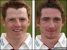 Niall O'Brien and Riki Wessels