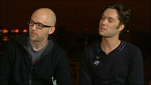 Rufus Wainwright and Moby
