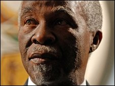 President Thabo Mbeki in September 2008