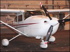 Cessna aircraft involved in incident