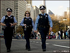 Chicago police on 4 November