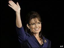 Sarah Palin in Phoenix, Arizona, 4 Nov