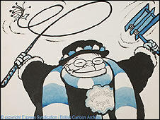 Carl Giles' famous character Grandma (Copyright: Express Syndication/British Cartoon Archive)