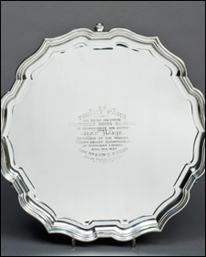 Tommy Farr's salver