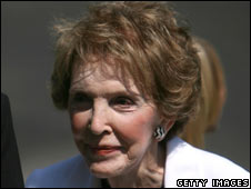 Nancy Reagan in 2007
