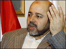Deputy Hamas leader Moussa Abu Marzouk, in Syria - 8/11/2008