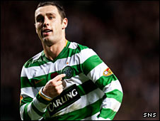 Celtic striker Scott McDonald