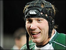 Ireland's Stephen Ferris was named man of the match