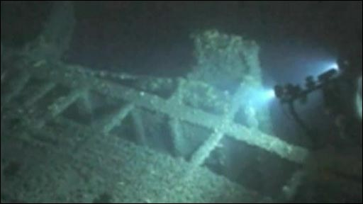 Britannic Wreck Pictures http://news.bbc.co.uk/2/hi/europe/7718245.stm