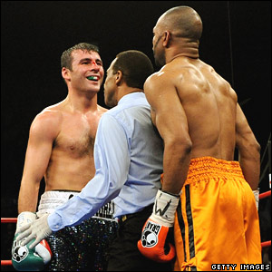 Joe Calzaghe, Roy Jones Jr