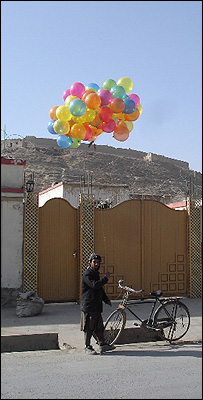 The balloon man in Kabul