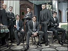Tennis Masters Cup group photo (ATP)