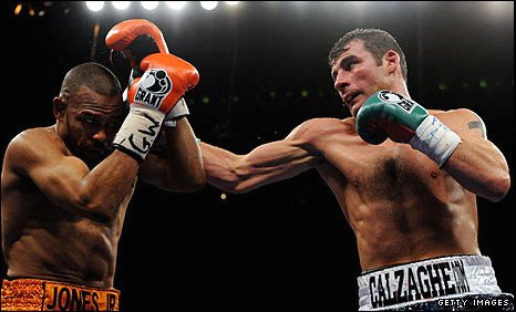 Calzaghe is in demand after his win over Roy Jones Jr