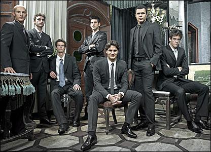 Nikolay Davydenko, Gilles Simon, Andy Murray, Novak Djokovic, Roger Federer, Jo-Wilfried Tsonga, Juan Martin del Potro