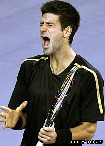 Novak Djokovic is Del Potro's opponent in the opening match and is looking for his first Masters Cup victory