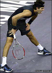 Del Potro has been struggling with a split toe nail in recent weeks and just falls short in a tight opening match