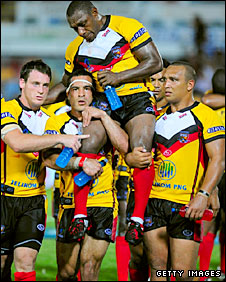 Stanley Gene is a legend of the sport in PNG