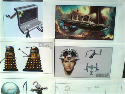 Doctor Who artwork