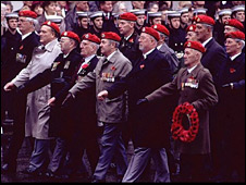 Rembrance Sunday Veterans Parade