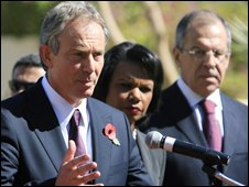 Tony Blair in Egypt