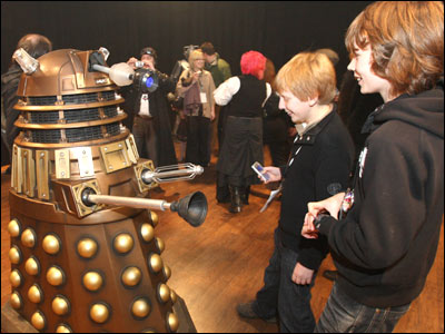 Dalek at Doctor Who tour