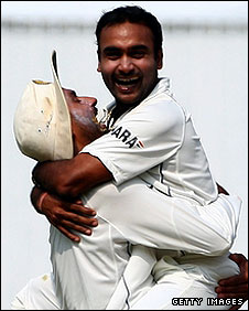 Harbhajan and Mishra