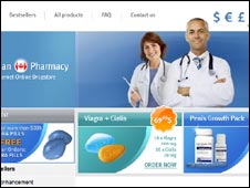 Fake pharmacy website, UCSD/UC Berkeley