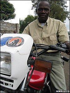 Ranger Augustin Kambale (Image: Gorilla.cd)