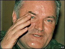 File photo of Ratko Mladic