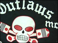Outlaws club patch