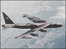 B52 bomber. File photo