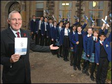 Dalziel pupils and rector