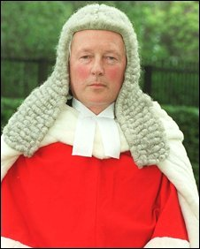 Mr Justice Eady. Copyright Universal Pictorial Press Photo