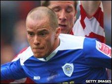 Barnsley striker Iain Hume