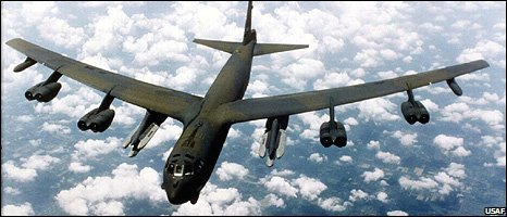File photo of a B-52 bomber (Image: USAF)