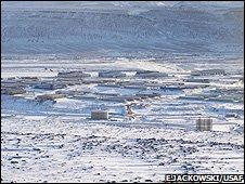 Thule airbase (Image: E.Jackowski/USAF)