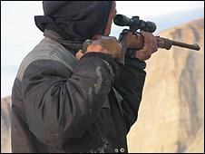 A hunter (Image: BBC)