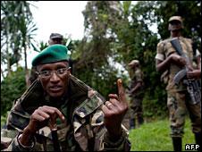 Laurent Nkunda in North Kivu, 10 November 2008