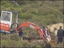 A previous search for Danny McIlhone 's remains