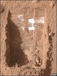Trench on Mars (Nasa)