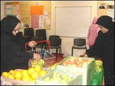 A food co-operative in Tower Hamlets