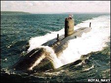 HMS Trafalgar. Pic: Royal Navy