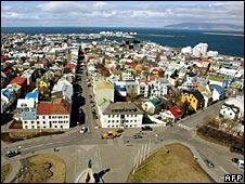 Downtownn Reykjavik