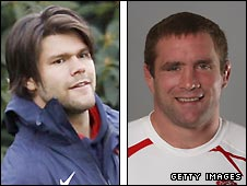 Tom Palmer (left) and Phil Vickery