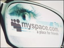 MySpace logo, AP